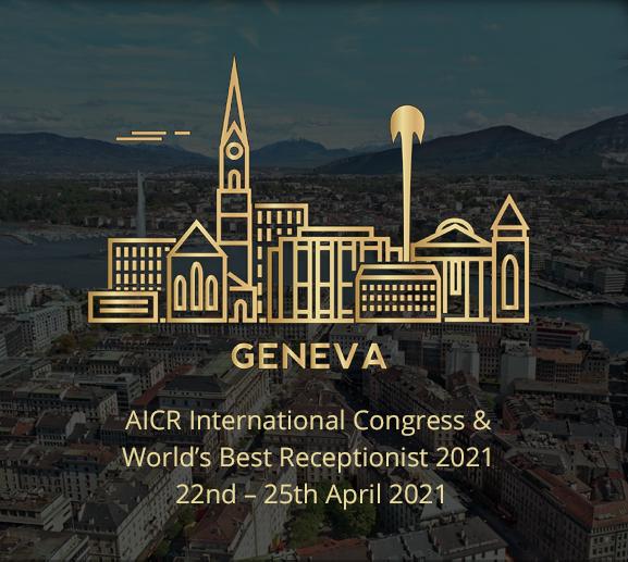 AICR - The World's BEst Receptionist 2021 Geneva